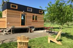 Tiny House, maison écologique en pleine nature à proximité du Mont Saint-Michel