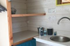 Aménagement de la salle d'eau de la Tiny House