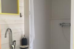 Douche intérieure de la Tiny House