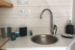 Coin salle d'eau de la Tiny House